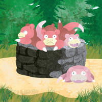Slowpoke Well by m-dugarchomp