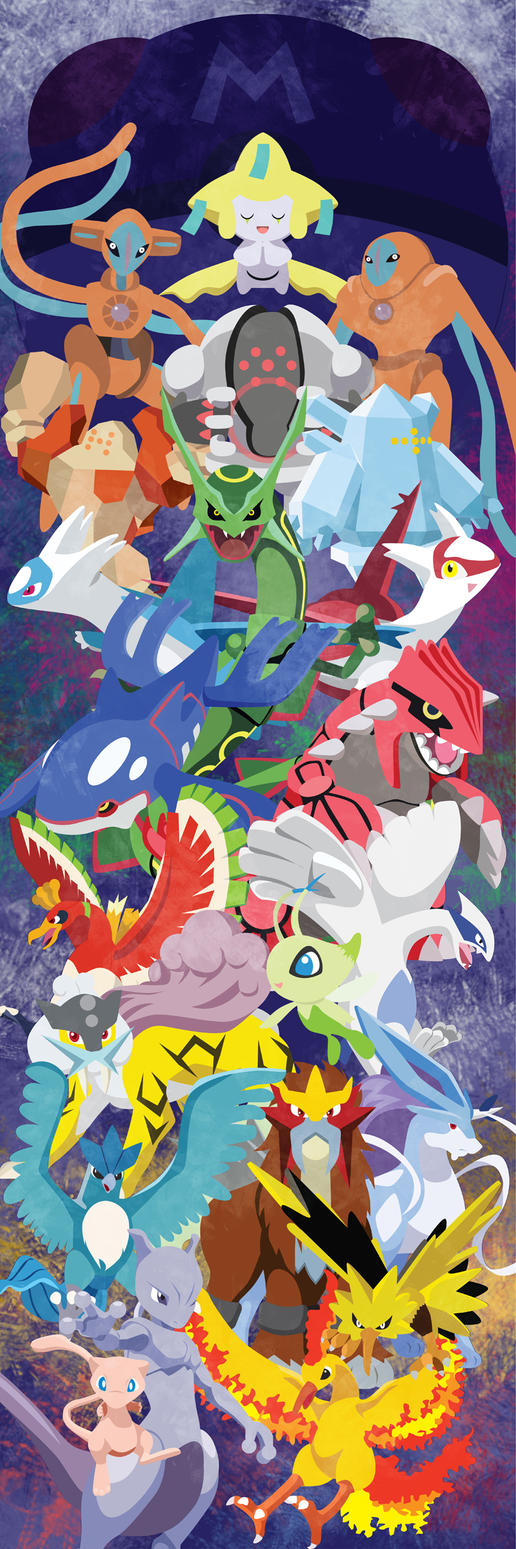 Three Generations of Legends by m-dugarchomp