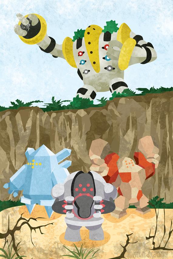 Legendary Golems by m-dugarchomp