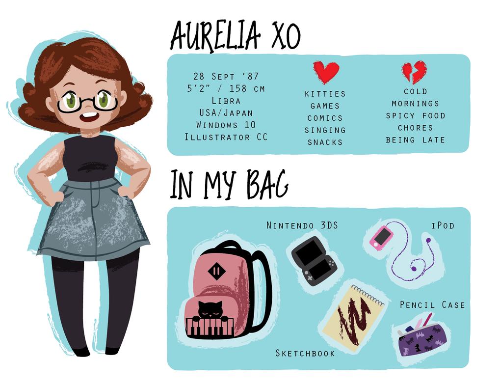 Meet the Artist - Aurelia XO by m-dugarchomp