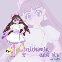STEM Girls: Alchimia and Tir by m-dugarchomp