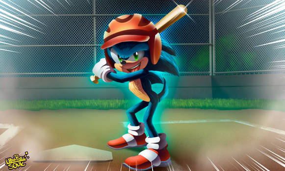 At the Plate ... SONIC!