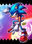 Sonic Individual #SA2BOXARTchallenge