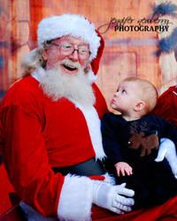 Gregory Meets Santa Claus