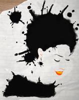 splatter girl by Mo6