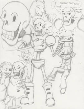 Papyrus, The Not Quite Royal Guard