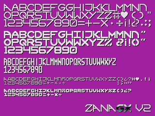 ZanaGX Font v2