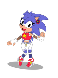 Sonic's New Outfit by ZanaGB