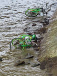Electric Bicycle Cementery