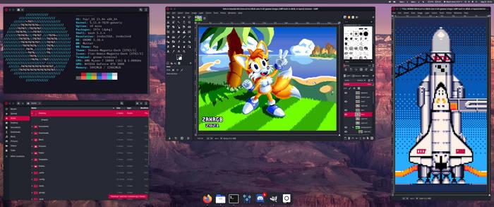 Desktop as of August 2021