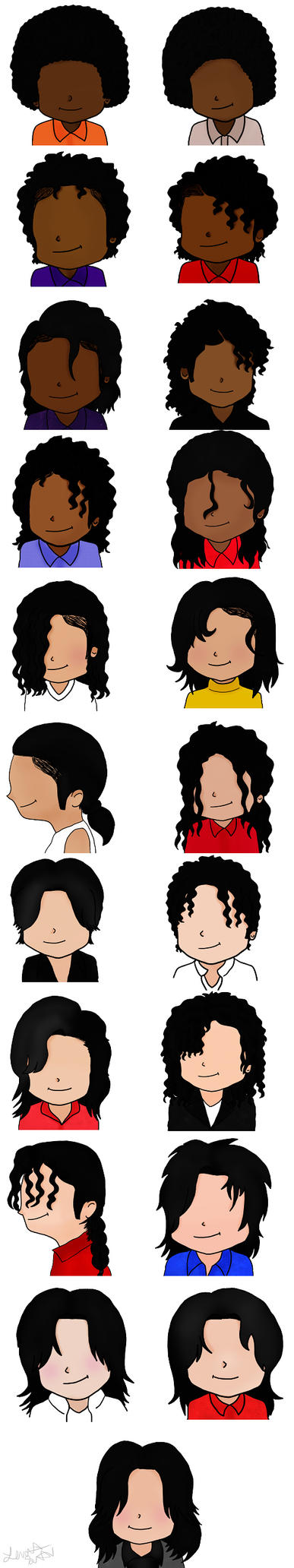 MJ Hairstyles by lenetta16