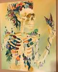 Grow Through it Acrylic Painting
