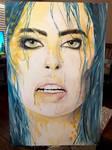 Honey Dew Acrylic Painting