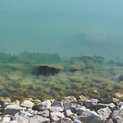 Underwater city, summer landscape by Greyguardian