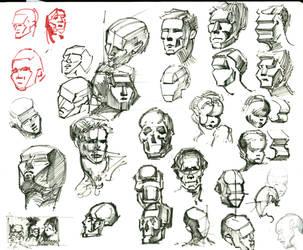 Figure Studies 15 by lubu-art