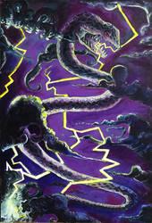 Thunder eel by lubu-art