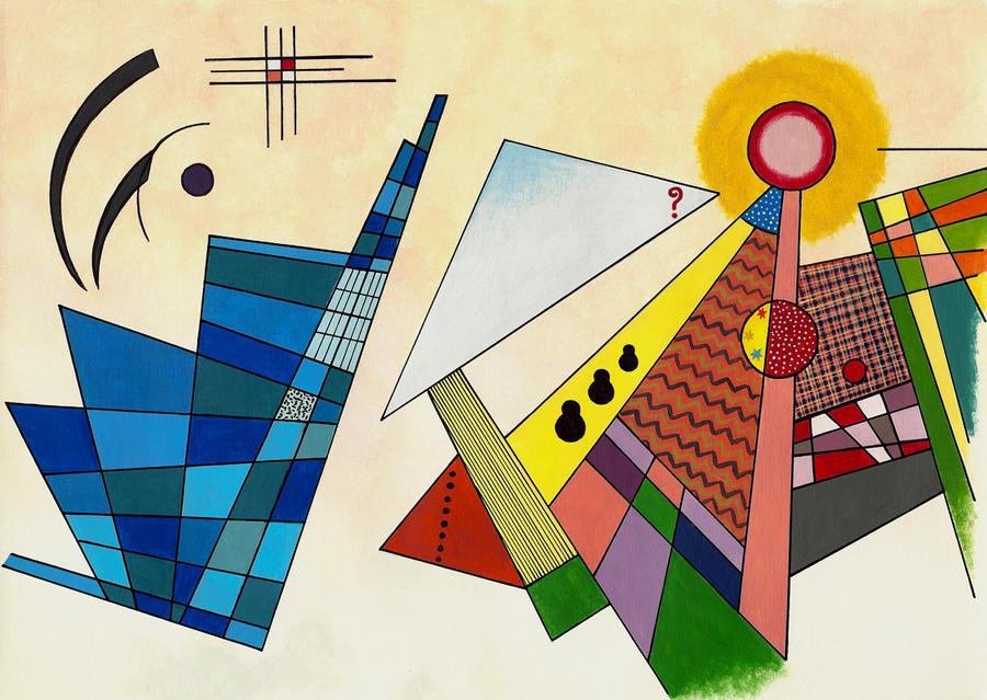 Abstract Kandinsky TARDIS by Umanimo