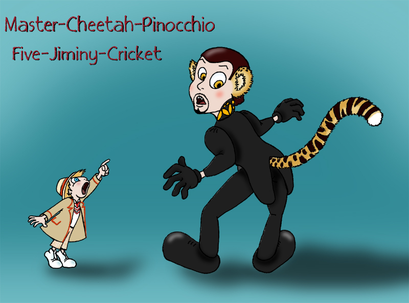 Fifth Doctor Jiminy Cricket by Umanimo