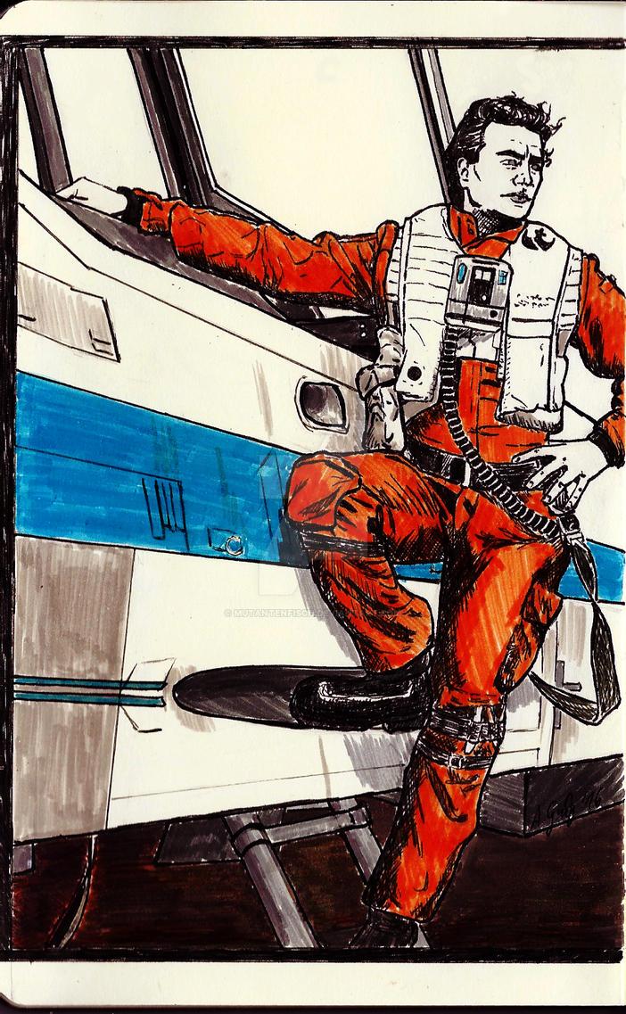 Resistance's Best Pilot by Mutantenfisch