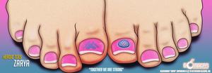 Heroic Toes: Zarya...