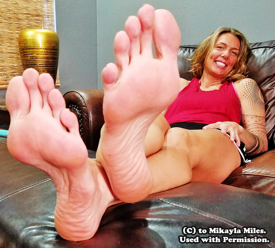 Mikayla miles foot worship