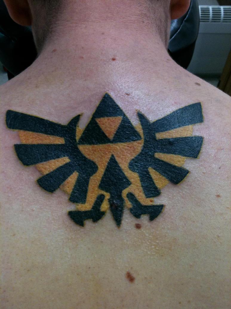 Zelda tattoo by Va10r65