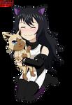 Blake adopted a Felyne