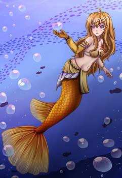RWBY Mermaid Yang
