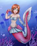 RWBY Mermaid Nora