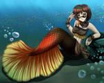 RWBY Mermaid Coco by ZeroRespect-BOT