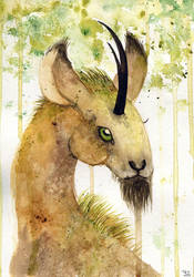 Forest unicorn by yeyra