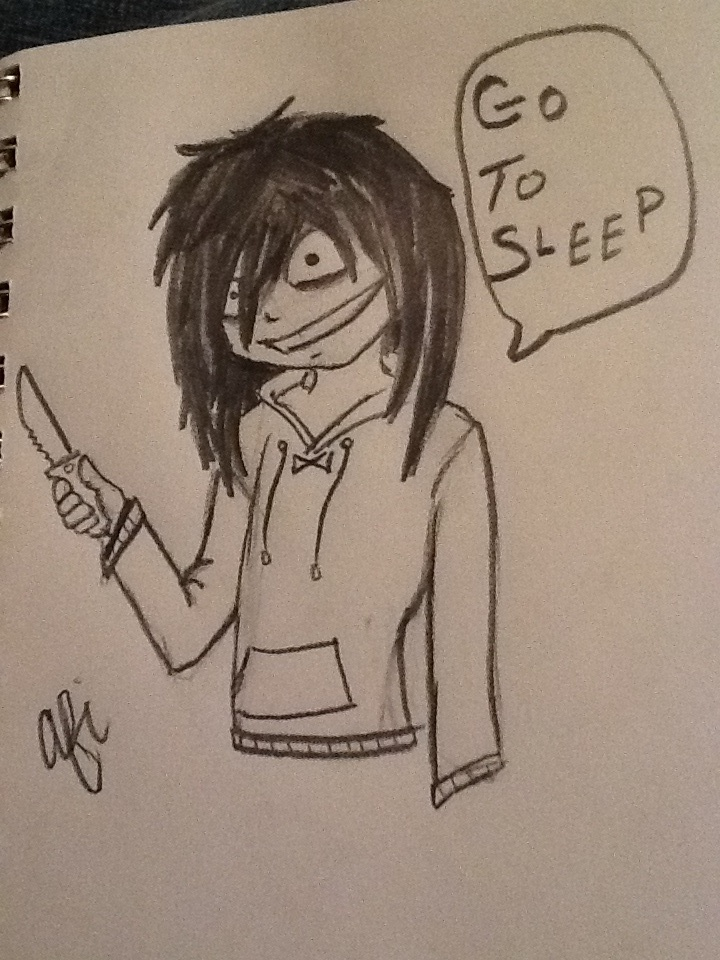 Jeff the Killer by WolfLover0925