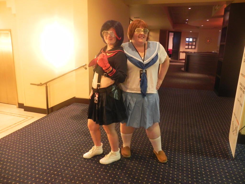 Ryuko Matoi and Mako Mankanshoku ONF 2014 by Kawaiikitti1241