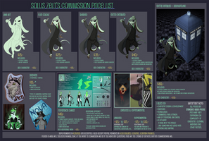 Commission Price List Sheet by Ventus-Fall
