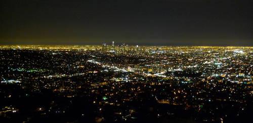 Goodnight LA by GMPix