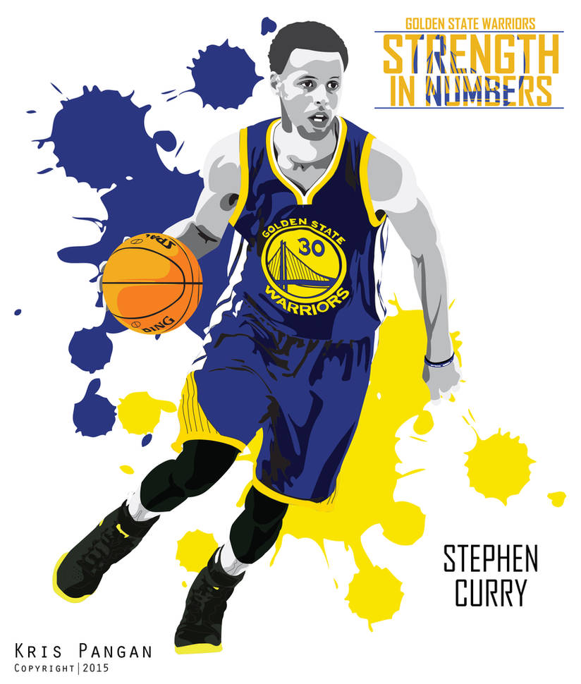 Stephen Curry vector by krsaudrck