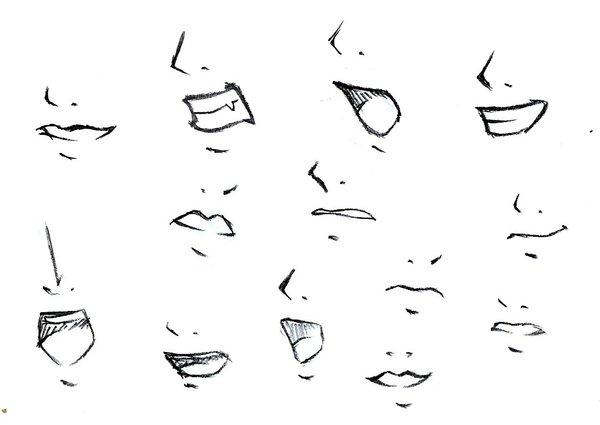 How to draw mouths? by tokatoka on DeviantArt