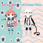 SF A2 Miki and Utatane Piko
