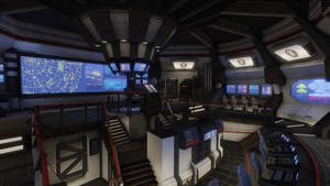 Starship Bridge by ravital