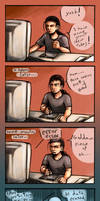 Nightmare of a digital artist