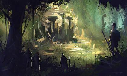 Ruins playground