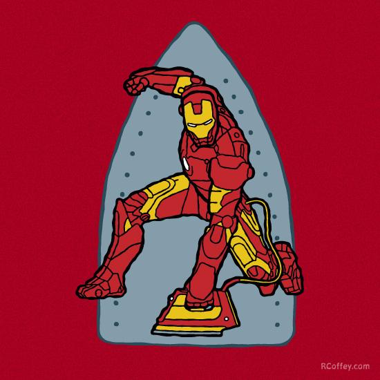 Ironing-Man by Randy-Coffey