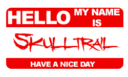 Hello my name is... by Skulltrail