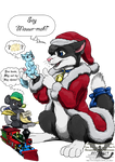 Santa Trax by JoeltheSwedishDragon