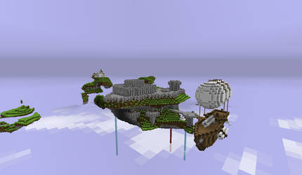 A castle in Aether