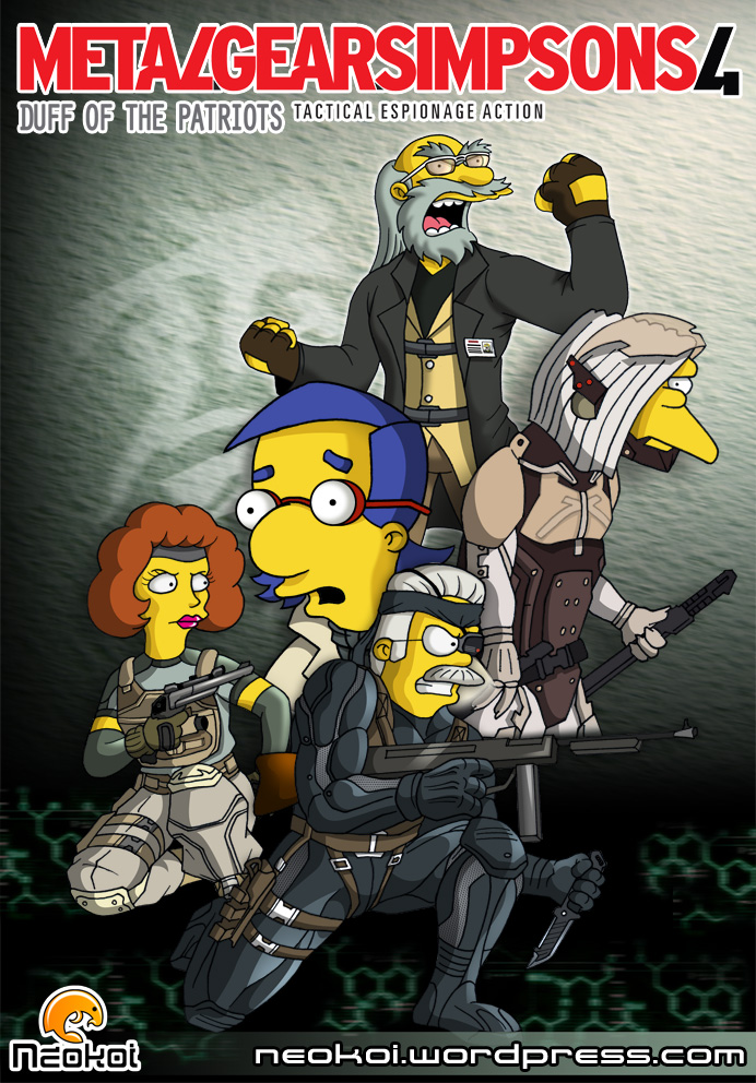 Metal Gear Simpsons 4 by Neokoi