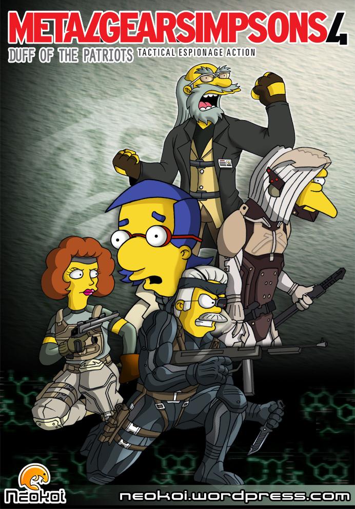 Metal Gear Simpsons 4 by Neokoi