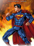 Superman (The New 52) Color Sample