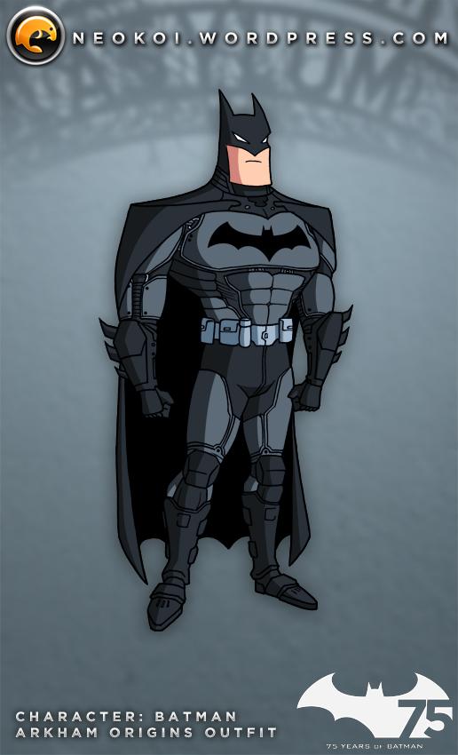 Batman TAS meets Arkham Videogames by Neokoi