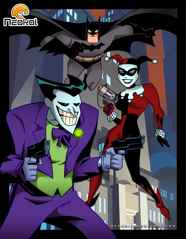 Joker and Harley by Neokoi